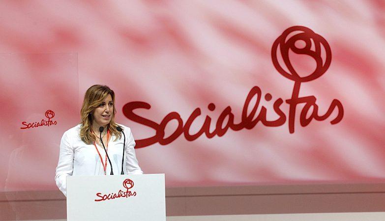 Susana Díaz, cabeça de lista do PSOE na Andaluzia
