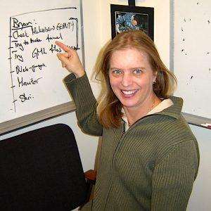 Laila Andersson, investigadora do Laboratório de Física Atmosférica e Espacial da Universidade do Colorado