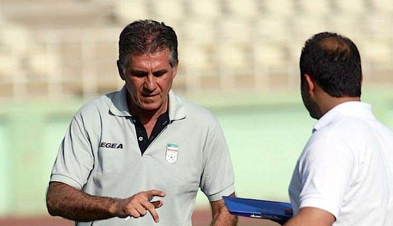 O seleccionador do Irão, ex-seleccionador de Portugal, Carloz Queiroz