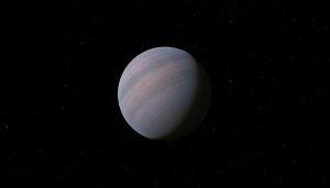 Planeta GJ 581d, que orbita a estrela Gliese 581