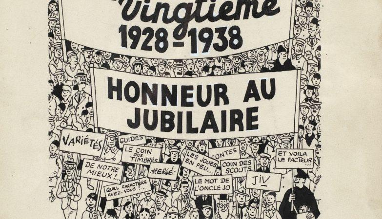 """Capa do décimo aniversário da publicação """"Le Petit Vigntième"""""""