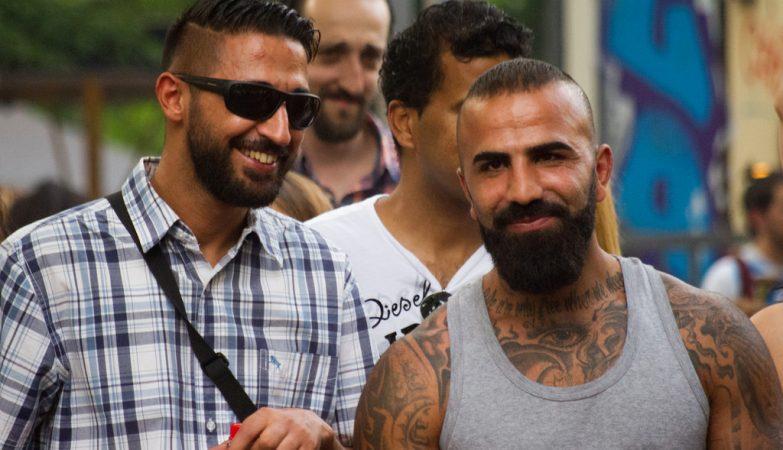 Turcos ou curdos de barba