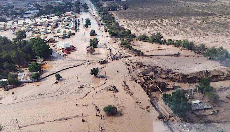 As cheias no Chile, numa região normalmente caracterizada pela seca, fizeram 10 mortos, 19 desaparecidos