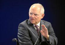 O ministro das Finanças alemão, Wolfgang Schäuble