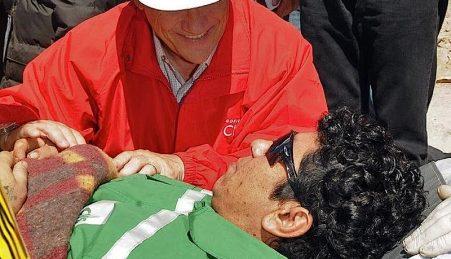 Victor Zamora passou 69 dias soterrado numa mina