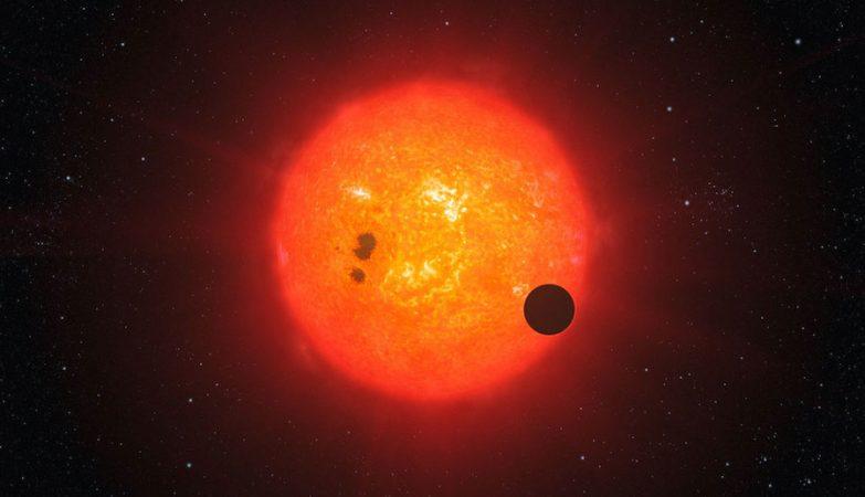 O satélite Kepler observa exoplanetas ao medir a curva de luz de uma estrela. Quando um planeta passa em frente da estrela, ocorre uma diminuição do brilho. Se esta diminuição ocorrer regularmente, pode então existir um planeta em órbita da estrela.