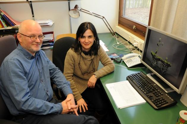 Prof. Dr. Theo Lange e Dr. Maria Pimenta Lange, investigadores da Universidade de Braunschweig