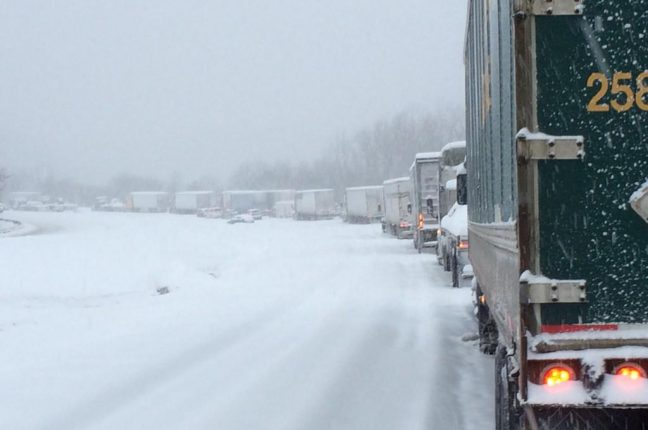 Tempestade de neve no Kentuky, EUA