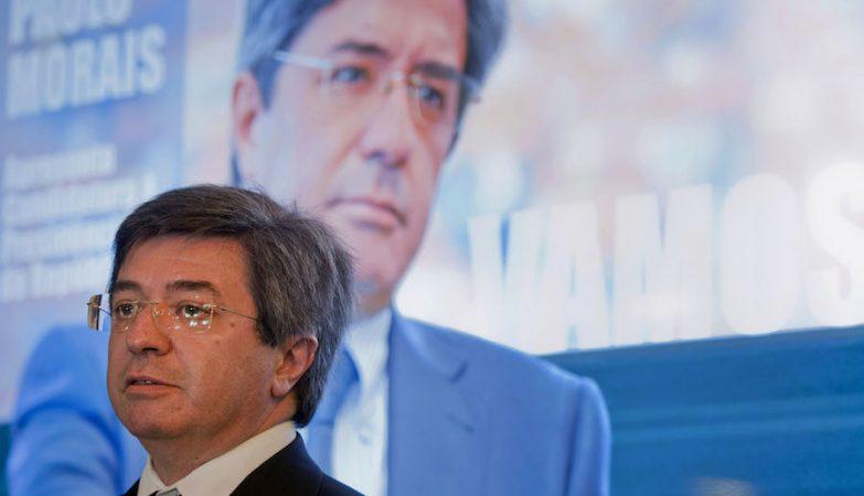 Paulo Morais apresentou no café Piolho, no Porto, a candidatura à Presidência da República