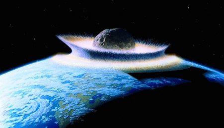 Um choque de asteróides terá contribuído para a extinção dos dinossauros e poderá fazer o mesmo à espécie humana.