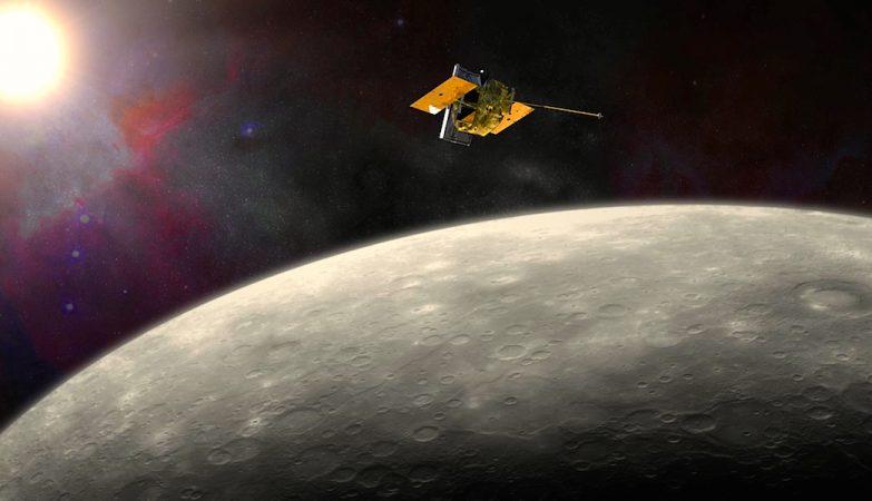 Messenger, a sonda lançada pela NASA há 6 anos e meio para explorar Mercúrio