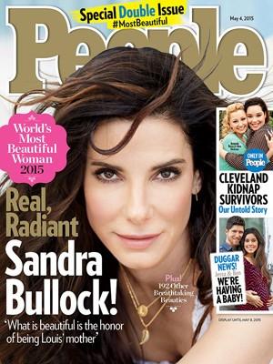 Sandra Bullock na capa da People