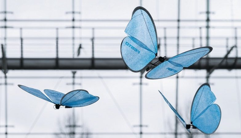 eMotionButterflies, as borboletas biónicas da Festo