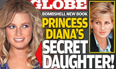 A filha secreta da princesa Diana fez capa na GLOBE