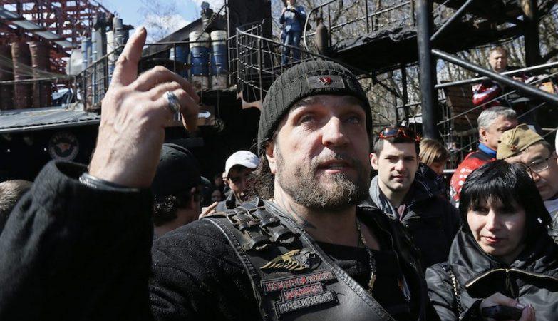 """O motard russo Alexander Zaldostanov, também conhecido como """"O Cirurgião"""""""