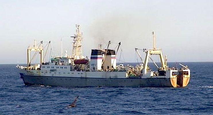 O pesqueiro Dalniy Vostok afundou-se em 15 minutos