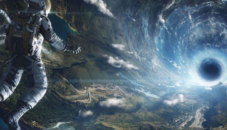 Cooper e o buraco negro,  Interstellar (2014)