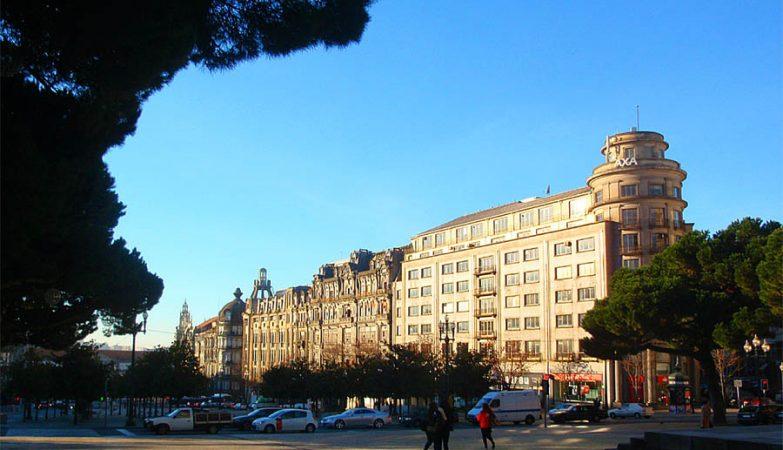 Edifício da Seguradora Axa no Porto
