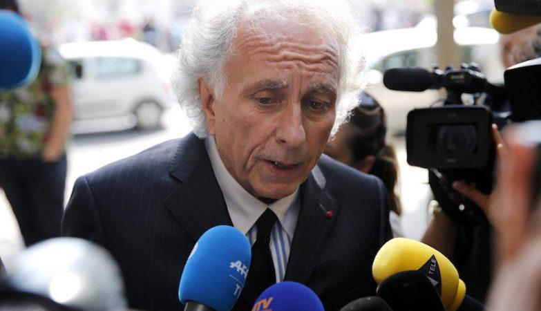 Gilles Jean Portejoie, advogado de Sid Ahmed Ghlam, presta declarações à imprensa