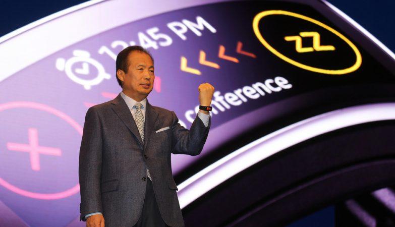 JK Shin, director da unidade de Comunicações Móveis e de TI da Samsung