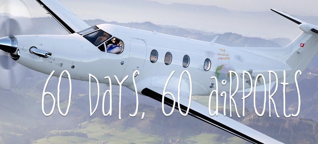60 dias, 60 aeroportos
