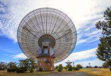 Observatório Parkes, da CSIRO, em New South Wales, na Austrália