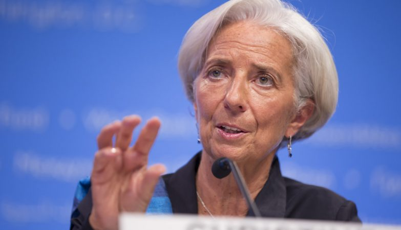 Stephen Jaffe  International Monetary Fund  FlickrA diretora-geral do FMI Christine Lagarde