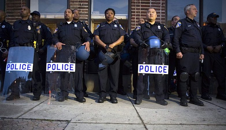 Agentes da Polícia de Baltimore, EUA