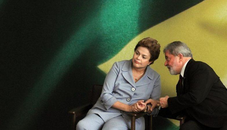 Lula da Silva e Dilma Rousseff