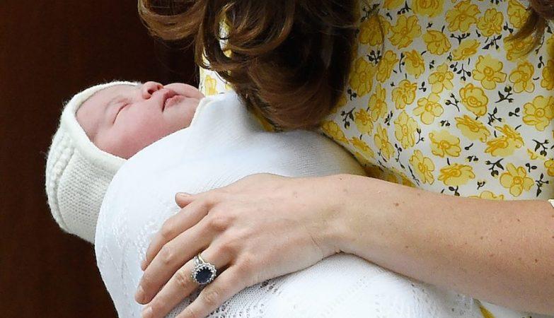 O nome da princesa foi anunciado esta segunda-feira: Charlotte Elizabeth Diana