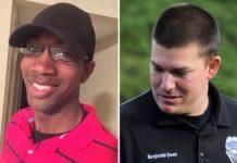 Liquori Tate e Benjamin Deen, os dois agentes da Polícia mortos em Hattiesburg