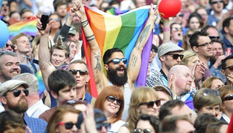 O 'sim' ao casamento gay na Irlanda deverá recolher 62,3% dos votos