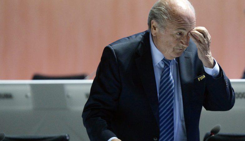 Joseph Blatter no 65º Congresso da FIFA em Zurique