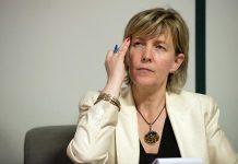 A ministra das Finanças, Maria Luís Albuquerque