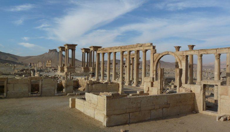 Palmyra, na Síria
