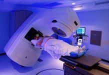 Terapia de radiação para o cancro da próstata numa unidade hospitalar