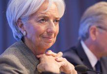 A diretora-geral do FMI, Christine Lagarde