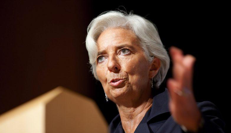 Christine Lagarde, diretora-geral do FMI