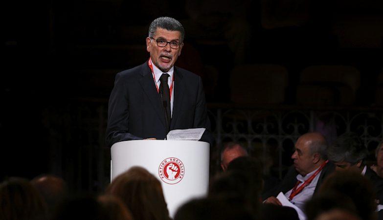 António Capucho intervém na convenção Nacional do Partido Socialista