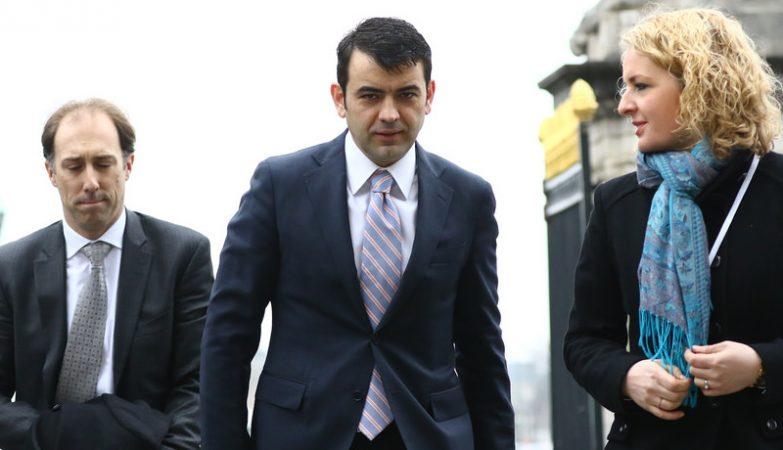 O ex-primeiro-ministro da Moldávia, Chiril Gaburici