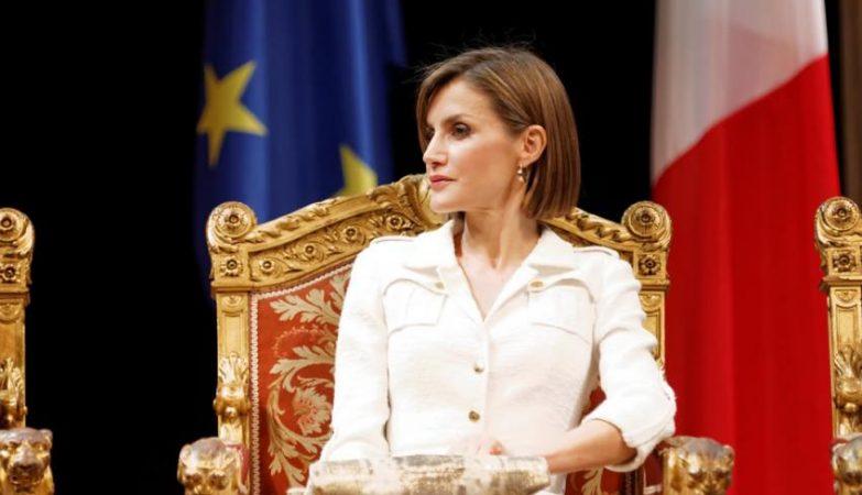 A rainha Letizia de Espanha