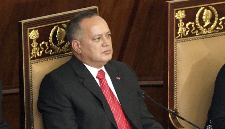 Diosdado Cabello, presidente da Assembleia Nacional da Venezuela