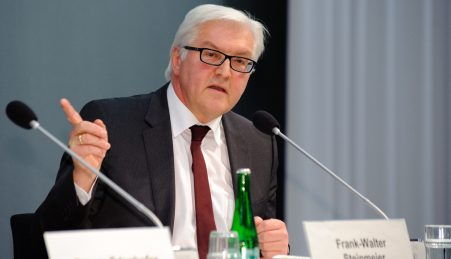 Frank-Walter Steinmeier, ministro dos Negócios Estrangeiros da Alemanha