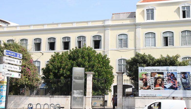 Edifício da Universidade Lusófona em Lisboa