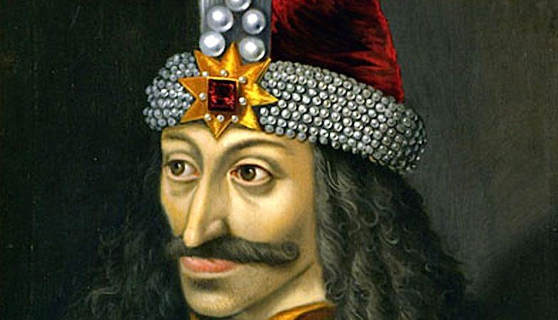 Retrato de Vlad III, O Empalador, pintado no início do século XVI