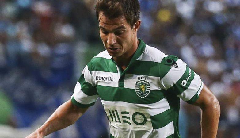 Cédric Soares despede-se do Sporting