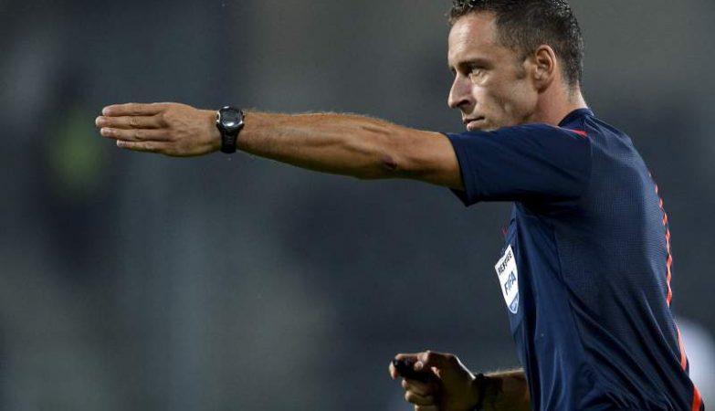 O árbitro de futebol Artur Soares Dias