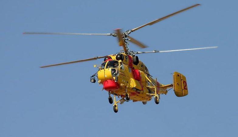 Helicóptero Kamov Ka-32A-11BC da frota da Protecção Civil, baseado em Faro