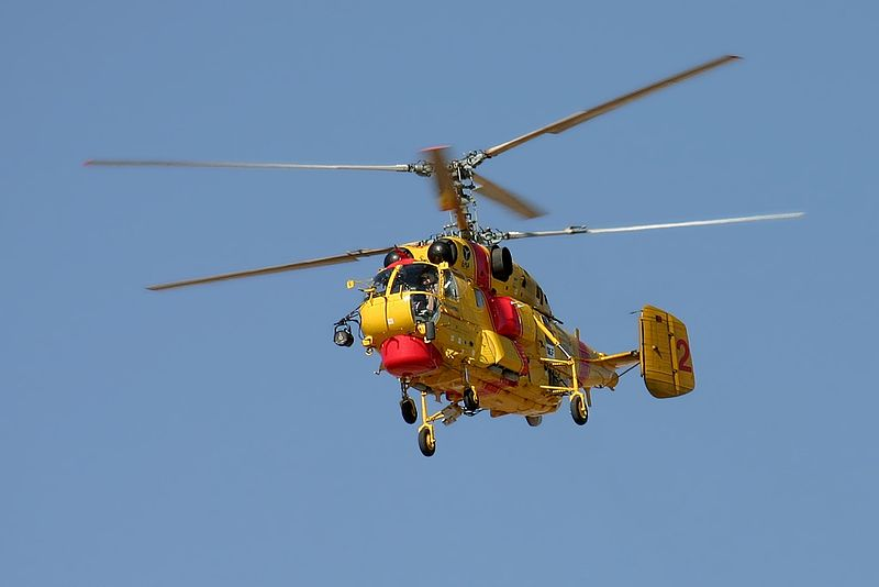 Elicottero Kamov : Dois helicópteros kamov já estão operacionais zap