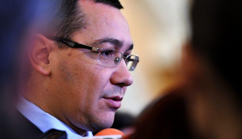 O primeiro-ministro da roménia, Victor Ponta